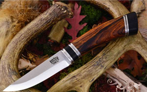 нож BR_Scandi Desert Ironwood Black Paper sp.CPM-3V