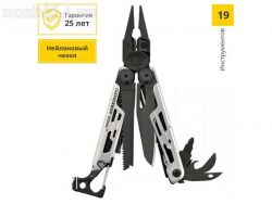 Мультитул LEATHERMAN 832625 SIGNAL BLACK & SILVER